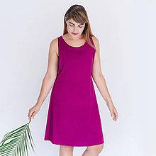 Šaty - Šaty so zipsom Wine - 8386304_
