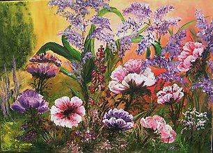 Obrazy - Vôňa kvetov - 8386513_