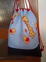 detský batoh žirafka