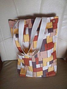 Nákupné tašky - taška nákupka prírodná - 8386127_