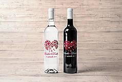 Darčeky pre svadobčanov - Svadobné etikety - Láska sa skladá z maličkostí - 8386545_