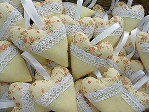 Darčeky pre svadobčanov - Crème de la crème :D, svadobné srdiečka - 8385843_
