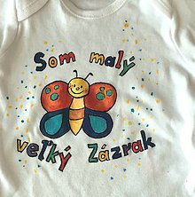 Detské oblečenie - malý veľký zázrak :-) - 8384652_