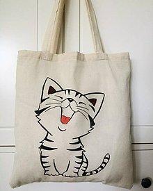 Nákupné tašky - Mačička - 8387658_