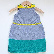 Detské oblečenie - Farebné detské šaty - 8387466_