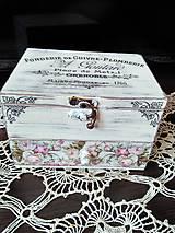 Krabičky - shabby chic šperkovnica - 8388822_