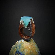 Prstene - Drevený prsteň: Kúsok od stredu Zeme - 8388396_