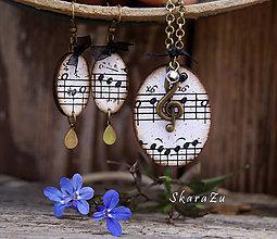 Sady šperkov - Stará hudba 5 / sada - 8388802_