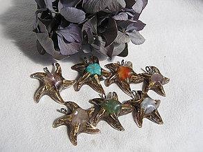 Iné šperky - Orgonit-prívesok hviezdica - 8387551_