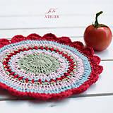 Úžitkový textil - Dečka - obrúsok FRESH - 8390500_