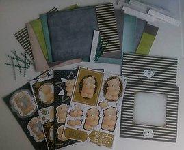 Papier - 3D Macíková pohľadnicová sada pre deti či začiatočníkov, 1 náhodná sada - 8390194_