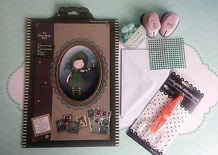 Papier - Gorjuss dievčatková 3D sada aj pohľadnicová, pre Drobcov, alebo začiatočníkov, v hodnote 13,55€ - 8391547_