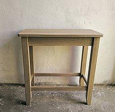 Nábytok - Odkladací stolík - 8391478_