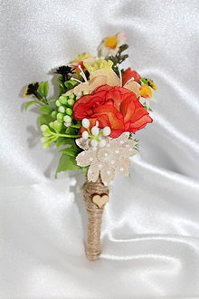 Pierka - Svadobné pierko pre ženícha \