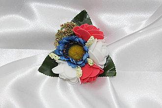 """Náramky - Svadobný náramok pre družičku """"Folk"""" - 8390202_"""
