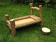 Hračky - Drevená posteľ - 8391014_