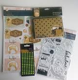 - Sada pohľadnicová + papierová + výrezová + nálepková + razít - 8393902_