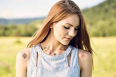 - Dočasné tetovačky - SlovakiaGift - krížikové - 8392776_