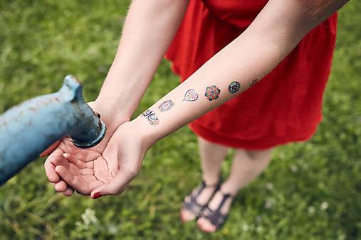 Dočasné tetovačky - SlovakiaGift - vyšívané