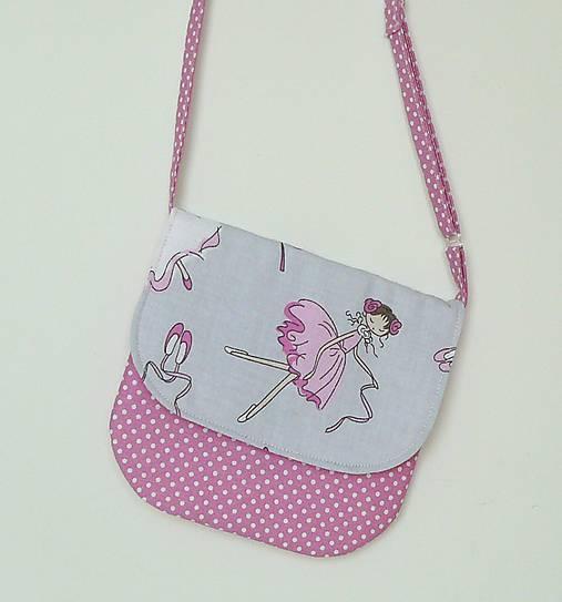 e299d3f9d3 Detská kabelka BALETKA   LEAN - SAShE.sk - Handmade Detské tašky