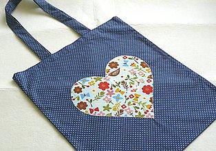Nákupné tašky - Milujem Slovensko č.1 - 8393114_