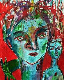 Kresby - Toto nie je portrét akvabely - 8391692_