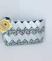 Peňaženky - Mini silver - 8392117_