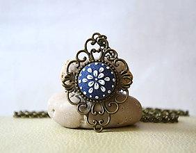 Náhrdelníky - Folk náhrdelník - Marína - 8397635_