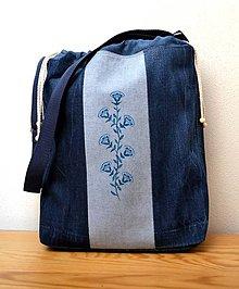 Iné tašky - Riflová taška so zaväzovaním - 8397520_