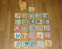 Hračky - Pexeso látkové ABECEDA- dva varianty - 8397757_