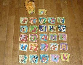 Hračky - Pexeso látkové ABECEDA- dva varianty  (1) - 8397757_