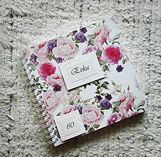 Papiernictvo - Kvietkovaný fotoalbum - 8397909_