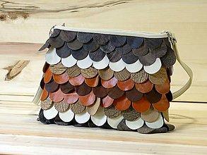 Veľké tašky - Kožená kabelka - Liliana - 8395376_