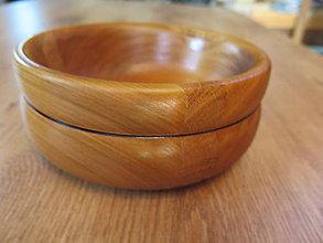 Nádoby - Drevená miska - intarzia - 8396032_