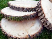 - vintage svadba/podložky z drevených plátov 9 - 8398061_