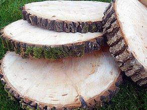 Pomôcky - vintage svadba/podložky z drevených plátov 9 - 8398061_