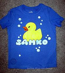 Detské oblečenie - Kačka kúpačka - 8398037_