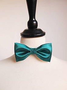 Doplnky - smaragdový motýlik - 8396734_