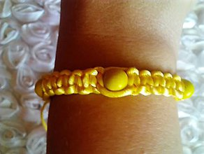 Náramky - slniečkový náramok pre ňu NA ZáKAZKU - 8396128_