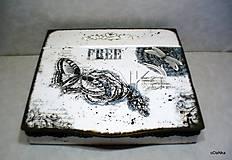 Nábytok - drevený sekretárik Free - 8397963_