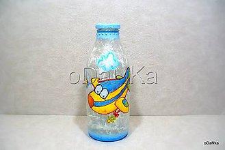 Nádoby - fľaša na mlieko pre Borisa - 8397759_