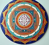 Mandala rovnováhy Sri Yantra