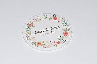 Darčeky pre svadobčanov - Magnetky - lúčne kvety - 8397957_