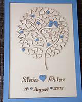 """Dekorácie - Svadobný strom """"Birds of love"""" - kniha hostí - 8395014_"""