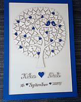 """Dekorácie - Svadobný strom """"Birds of love"""" - kniha hostí - 8395015_"""