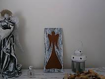 Obrázky - Anjelik do moderného čierno bieleho bývania - 8395518_
