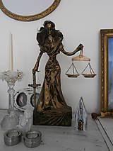 Sochy - Bohyňa spravodlivosti, alebo Justícia - 8395613_