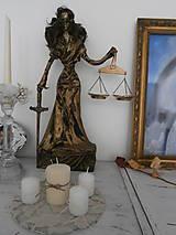 Sochy - Bohyňa spravodlivosti, alebo Justícia - 8395623_