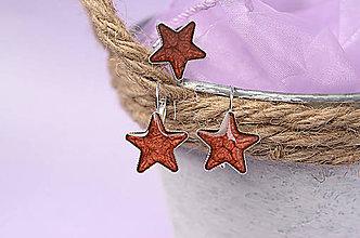 Sady šperkov - sada hviezdičková - 8397535_