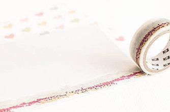 """Papier - WASHI / papierová páska na tvorenie """"akverelová lúka"""" - 8396953_"""